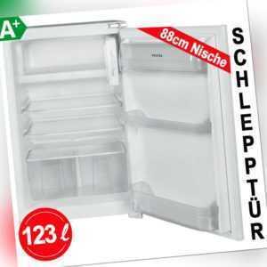 Einbau Kühlschrank mit Gefrierfach 88cm Nische 123 L Schlepptür...