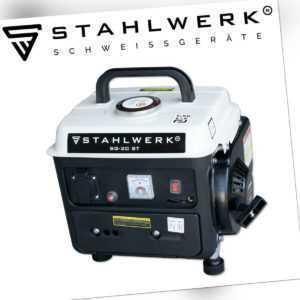 STAHLWERK Stromgenerator 2 PS Benzingenerator Stromerzeuger Notstrom-Aggregat