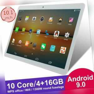 "10.1"" HD Tablet PC Android 9.0 WIFI Bluetooth Dual Kamera 10 Core 4+16GB GPS"