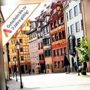 Städtereise Nürnberg 4* Ringhotel Loews Gutschein 2 Personen Wellness 3- 4 Tage