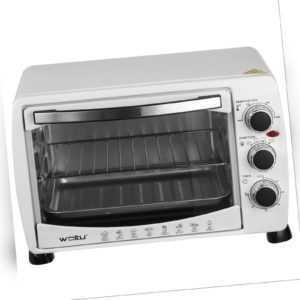EUGAD Mini Backofen Pizzaofen 20L mit Backblech Timer bis 250°C...