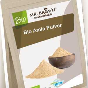 BIO Amla Pulver 500g Amalaki Amlapulver geprüfte Qualität 0,5kg (35,90 EUR/kg)