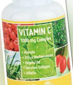 VITAMIN C 1000mg Complex + Acerola
