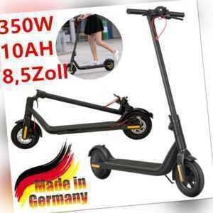 "350W E-Scooter Scooter 8,5"" Elektroroller Roller Faltbare Pedelec E-Board 25km/h"