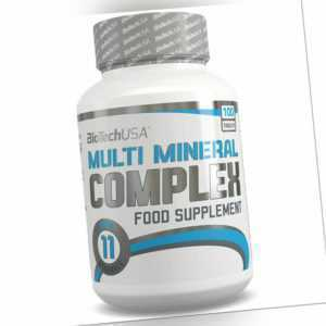 BioTech Multi Mineral Complex 100er Mineralstoffe Magnesium Mineralien Wellness