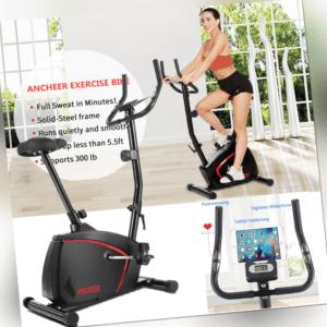 Indoor Fitness Fahrrad Heimtrainer Trimmrad Hometrainer Ergometer LCD bis 150kg