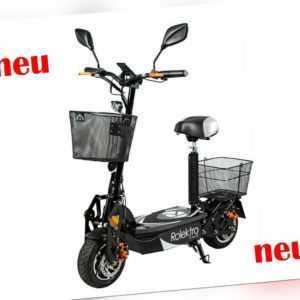 Faltbarer Elektroroller 20 km/h Rolektro E-Joy 20  Roller E_Scooter Cityroller