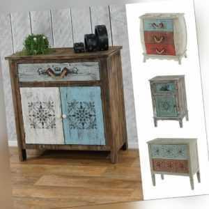 Kommode Aveiro Sideboard Schubladenschrank Schrank Shabby-Look, Vintage