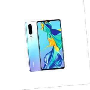 Huawei P30 / 128GB / Breathing Crystal Aurora Schwarz / Händler DE...