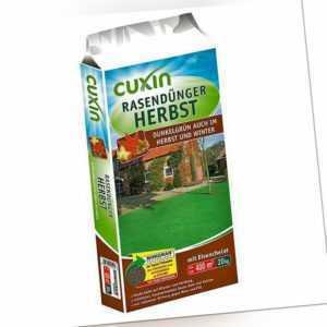 (EUR 1,73/kg) Cuxin Rasendünger Herbst 20kg