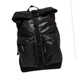 Superdry Rucksack ROLL TOP TARP BACKPACK Black