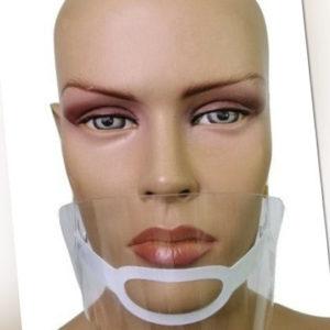 12x Mund Gesicht Bezüge Anti-beschlag Haustier Einstellbar Shield Klar Werkzeug