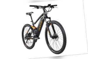 E-Mountain Bike 27,5 Zoll Adore E-Bike Xpose Schwarz 27 Gänge 250W 36V/14Ah 213E