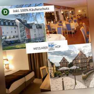 4 Tage Urlaub in Wetzlar im Lahntal im Hotel Wetzlarer Hof mit Halbpension