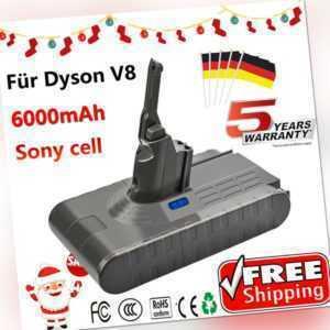 6000mAh 21.6V AKKU Für Dyson V8 Absolute Staubsauger Sony Cell Batterie VERKAUF!