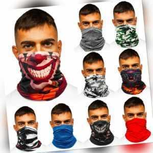 Bandana Tube Schal Gesichtsschutz Multifunktionstuch Maske Stirnband BOLF Motiv