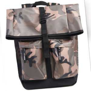 Superdry Rucksack ROLL TOP TARP BACKPACK Green Camo