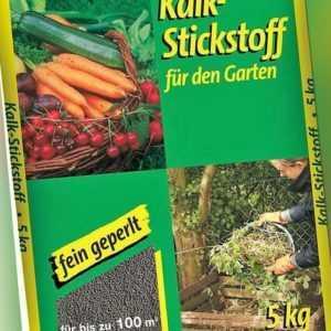 3,19€/KG - Kalkstickstoff 5kg fein geperlt Garten Dünger Kalk Gemüse Kompost
