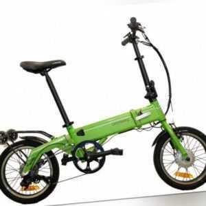 E-Bike Grünberg Green Falter Pedelec 375W / Klapprad Ebike E Bike