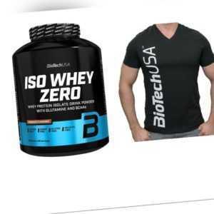 Biotech USA Iso Whey Zero 2270g CFM Isolat + T-Shirt Gratis