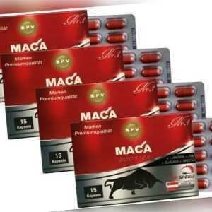 MEGA MUSKELAUFBAU>60 Caps Anabolika Steroide Ersatz>Testosteron Booster>Maca