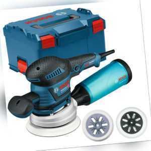 Bosch Exzenterschleifer GEX 125-150 AVE Professional im Set in L-BOXX Gr. 3