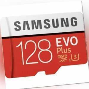 128GB Samsung EVO plus 100MB/s Class 10 SDXC MicroSD Speicherkarte MB-MC128HA