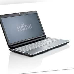 "Fujitsu LIFEBOOK A530 15,6"" HD Core i3-M370 2,40GHz 4GB RAM 320GB HDD DVD Win 10"