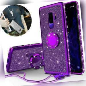 Case Samsung S20 Plus /A51 A71 Diamont Handy Hülle Silikon Schutz Glitzer Tasche
