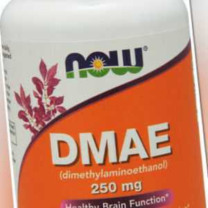 Now Foods, DMAE, Healthy Brain Function, 250mg, 100 Veg. Kapseln - Blitzversand