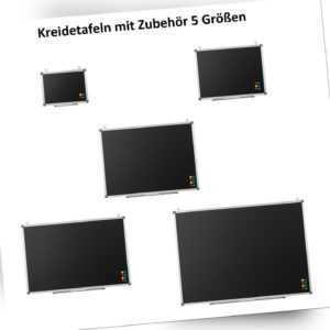 Kreidetafel Schreibtafel Magnettafel schwarz Blackboard Tafel verschiedene Größe