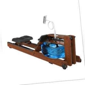 Rudergerät Klappbar Leises Magnetbremssystem Wasserwiderstand Video Fitness