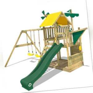 WICKEY Spielturm Kletterturm Smart Aviator Stelzenhaus Garten Schaukel Rutsche