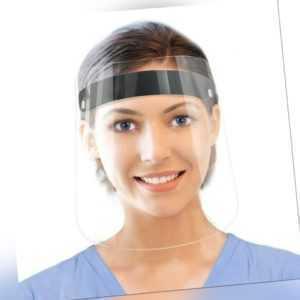 Visier Face Protect Schild Shield+Maske Mund Gesichtsschutz Hygiene 3D-Gedruckt