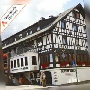 Wellness Kurzurlaub Schwarzwald Lossburg 3 Tage für 2 Personen Hotel mit Dinner