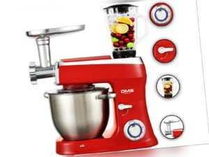 3 in1 Küchenmaschine StandMixer Ice Crusher Fleischwolf 9 L 2200W ...