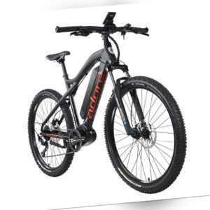 """E-Bike MTB 27,5"""" Adore Pedelec Xpose 9 Gänge schwarz 250W 36V/14Ah 212E"""