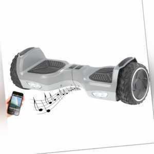 """Hoverboard: Elektro-Scooter mit 7""""-Rädern, Lautsprecher, 600 Watt, Bluetooth"""