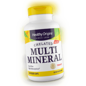 Healthy Origins - Chelat Multi Mineral-, Eisen Gratis X 120 Vegetarische Kapseln