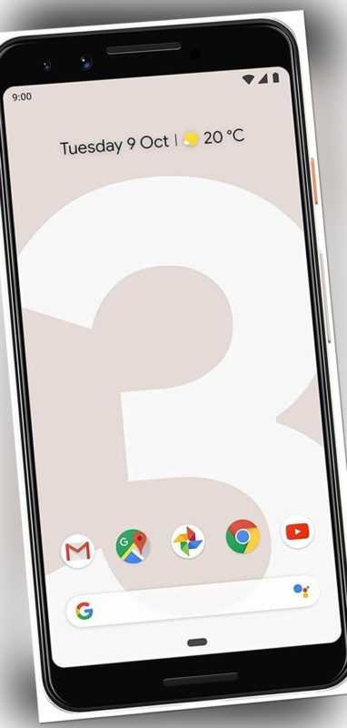 Google Pixel 3 Handy Smartphone 5,5 Zoll 64GB 12,2 MP Kamera Touchdisplay