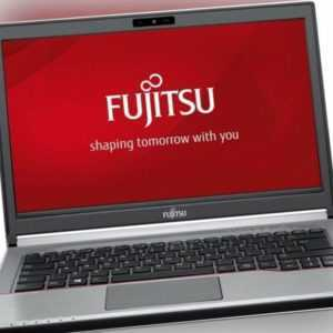 Fujitsu Lifebook E734 4300M i3 2.5Ghz 8GB 120GB SSD Windows 10 Professional