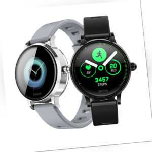 Smartwatch S9 Bluetooth Fitness Uhr Rundes IPS Display 380maH IP67 iOS Android