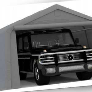 Garage Mobiler  Stahl Carport ZELTGARAGE ca. 3 x 5m