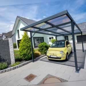 Gutta Carport Premium | 3094 x 5620 mm | Anthrazit