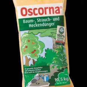 Oscorna Baum-, Strauch- und Heckendünger 10,5 kg Naturdünger NPK organisch BIO