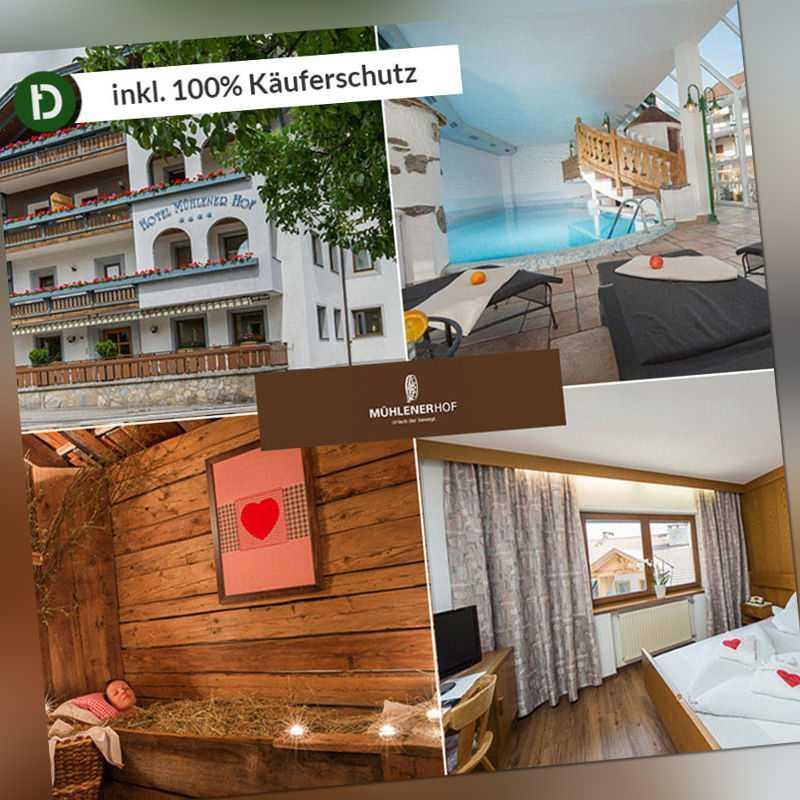 3 Tage Urlaub in Mühlen in Südtirol im Hotel Mühlener Hof mit 3/4-Verwöhnpension