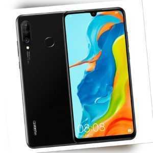 Huawei P30 lite NEW EDITION, Dual SIM 256GB, black, 6GB, OHNE...