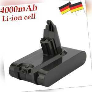 4.0AH 21.6V Akku Für Dyson V6 DC58 DC59 DC61 DC62 Animal DC72 DC74 BC683 SV03