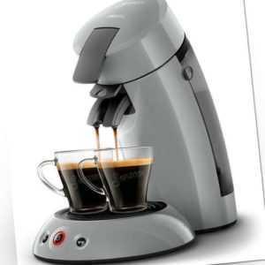PHILIPS Senseo Original HD6553/70 Kaffeepadmaschine grau 1450 Watt
