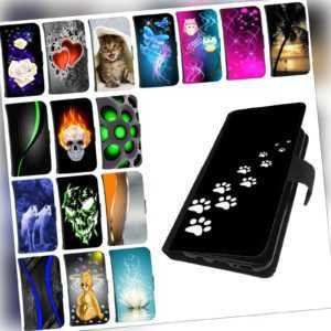 Schutz Hülle für Huawei P20 P30 Lite, Pro Handy Tasche Cover Case  Etui Motiv
